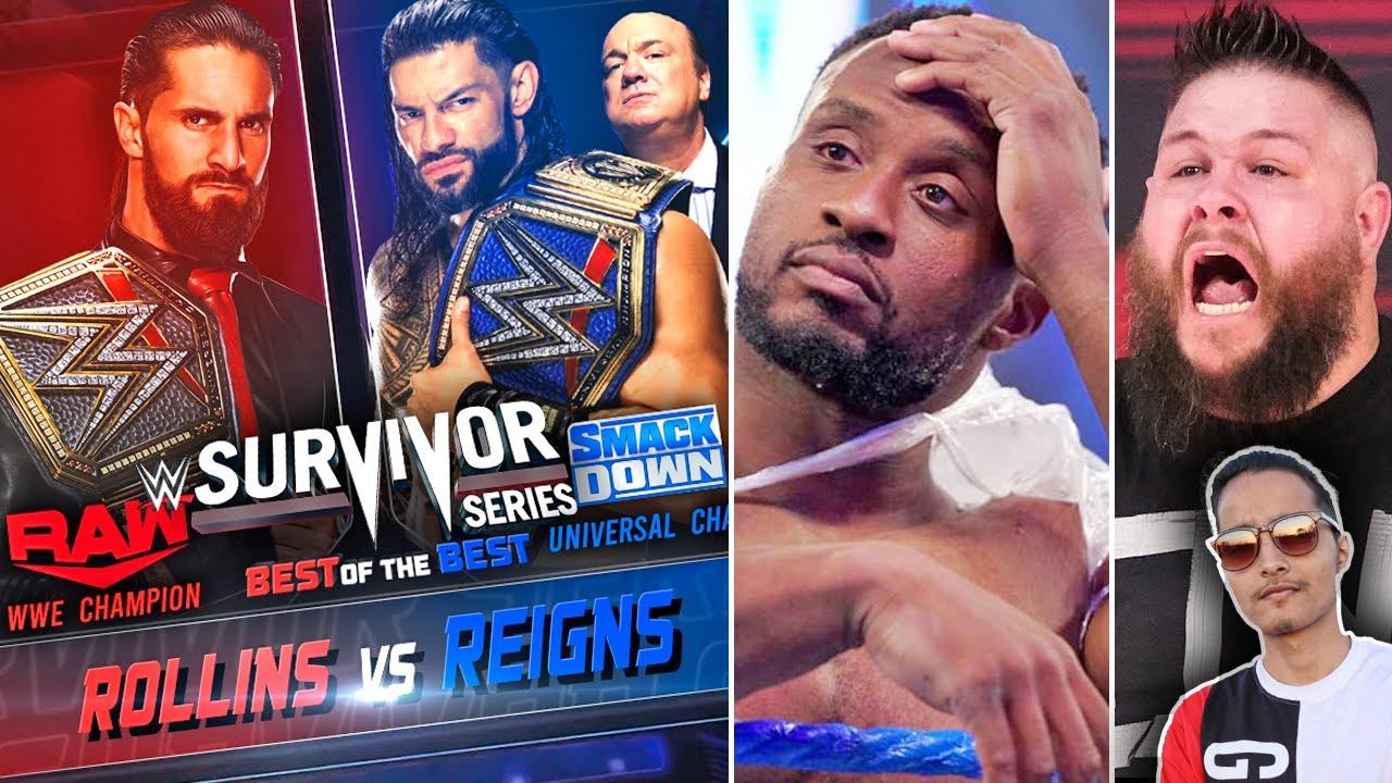 Big Roman Vs Seth Survivor Series 2021 Champ Vs Champ Match..RAW Ratings, Vince McMahon Exposed?