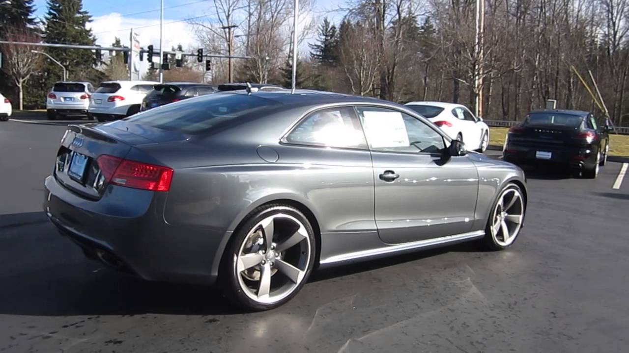 2014 Audi Rs5 Daytona Gray Pearl Effect Stock 109788