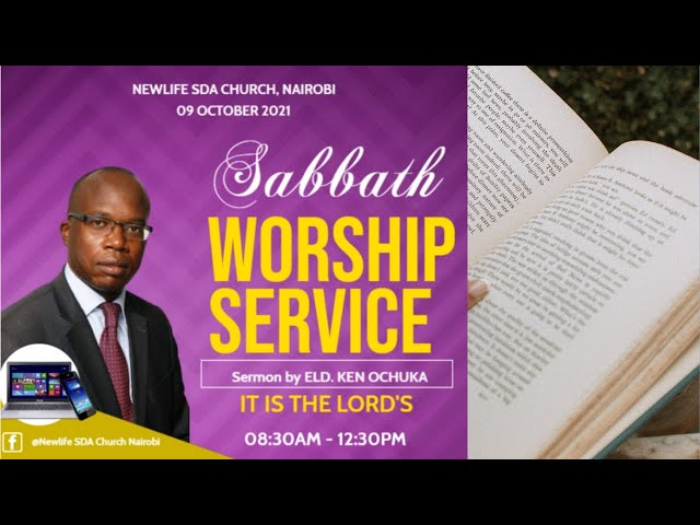 Sabbath Morning Worship || It is The Lord's || 09 October 2021