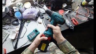 Қайта жасау батарея шуруповерта Makita (PA12)
