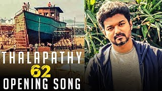 Thalapathy 62 Opening Song for Vijay! | Mass sets and Crew in Action! | TK 824