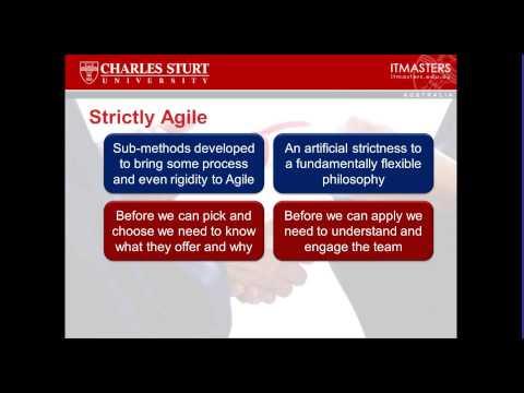 Lecture Free Short Course Agile Project Management