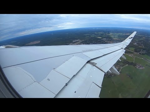 [FLIGHT TAKEOFF] Finnair A321 - Gray Morning Takeoff From Helsinki To Zurich