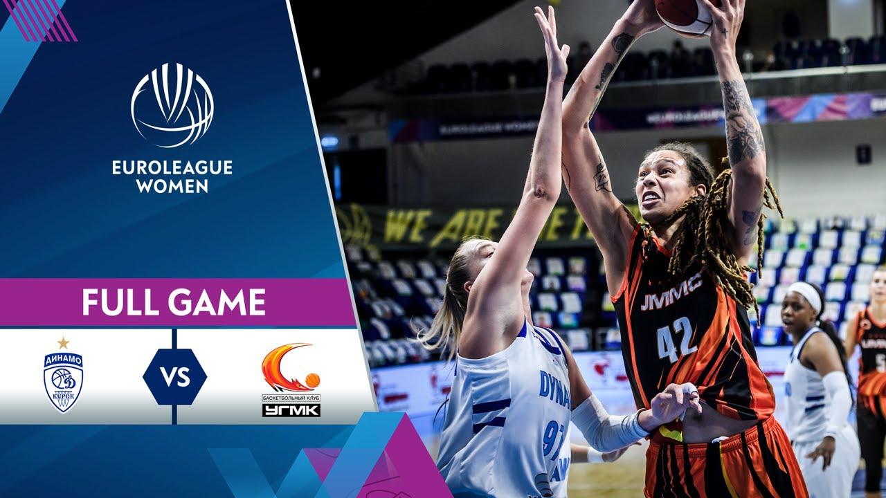 Quarter-Finals Game 1: Dynamo Kursk v UMMC Ekaterinburg | Full Game - EuroLeague Women 2020