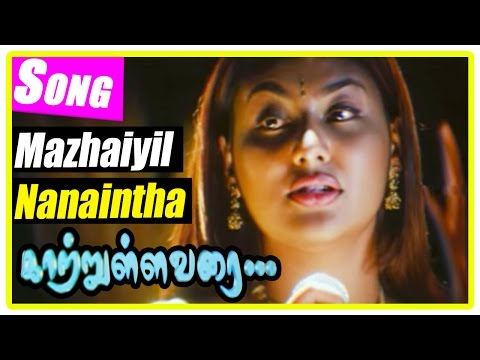 Kaatrulla Varai Tamil Movie | Scenes | Mazhayil Nanaintha Song | Jai Akash comes to meet Pranathi