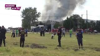 Μεγάλη πυρκαγιά στη βιομηχανία Doppler-Eidisis.gr webTV