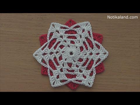 Crochet Motif For Tunic Blouse Dress Very Easy Free Pattern Tutorial