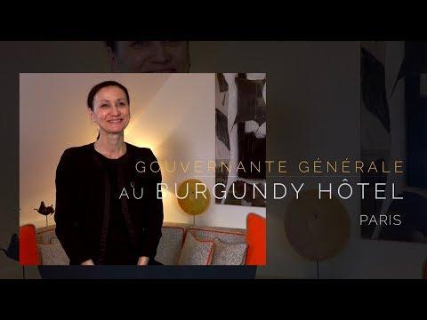 Gouvernante Générale à l'Hôtel Burgundy Paris *****