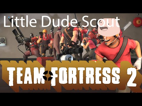 Little dude scout: Team Fortress 2