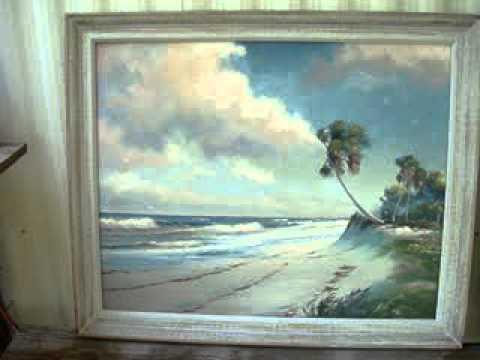 Highwaymen Paintings Florida Artists sold - YouTube