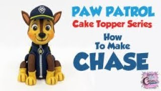 CHASE CAKE TOPPER - Poot Patrouille Tutorial