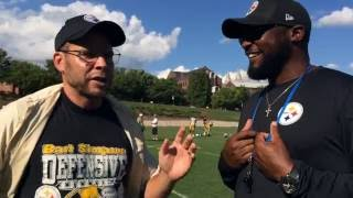 Pittsburgh Dad & Steelers Coach Mike Tomlin 2016