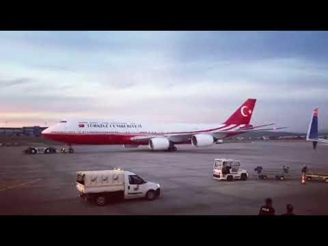 Turkish Government VIP Boeing 747-8 TC-TRK