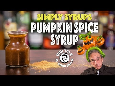 How to make Pumpkin Spice Syrup For that pumpkin spice fanatic in your life!