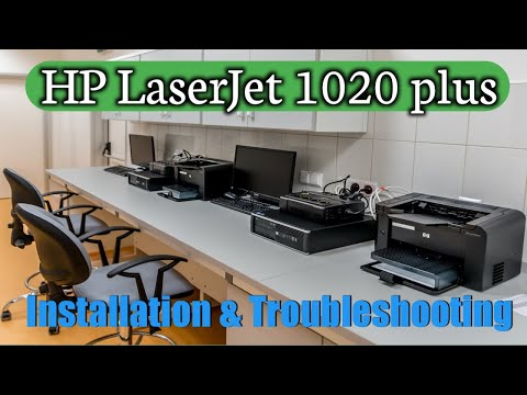 Printer Installation || HP LaserJet 1020 Plus Installation || HP Printer || Assamese Tutorial