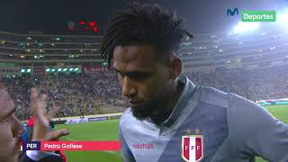 Pedro Gallese y su análisis tras el triunfo de Perú 1-0 ante Costa Rica