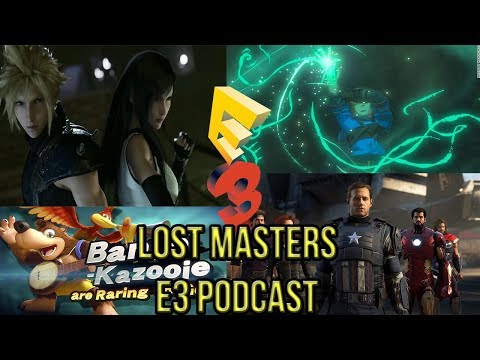 E3 2019 CYBERPINK 2077 , FINAL FANTASY 7 REMAKE BREATH OF THE WILD SEQUEL: LOST MASTERS PODCAST - 동영상
