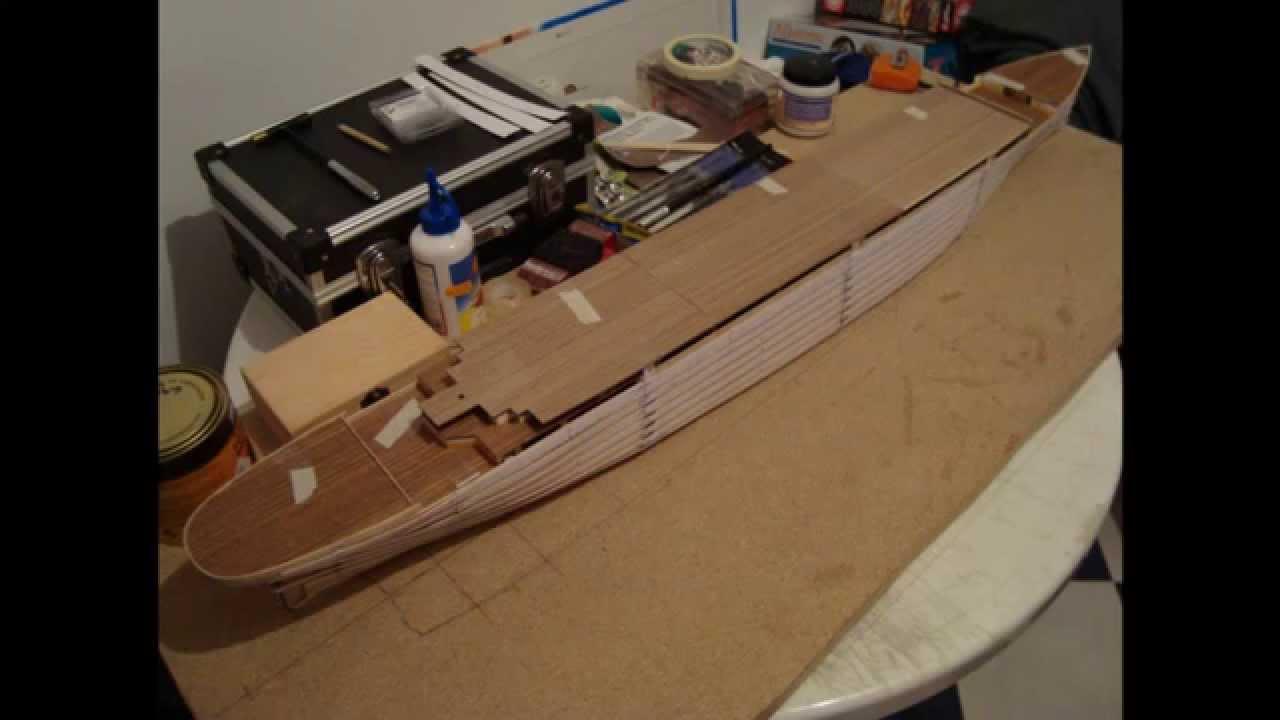 Construccion maqueta titanic 1 parte youtube - Construccion del titanic ...