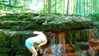 Nature's Drinking Fountain | YeĮlow Springs, OH Camping and Hiking |