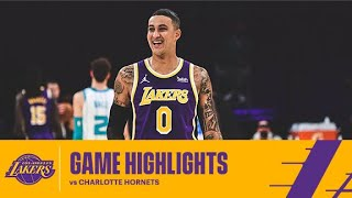 HIGHLIGHTS   Los Angeles Lakers Vs Charlotte Hornets