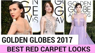 Golden Globes 2017: BEST Red Carpet Looks (STYLEWIRE)