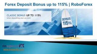 Forex Deposit Bonus | RoboForex