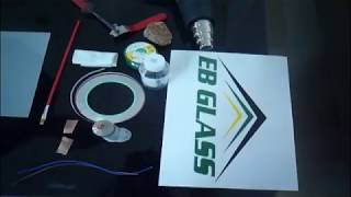 Tutorial ins and outs - how to make busbar for smart pdlc film, switchable film,-EB GLASS