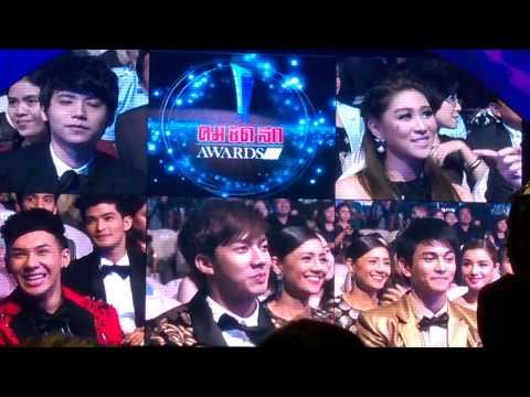 KANG_6/7 เข้าชิงรางวัล Popular Vote สาขา นักร้องเพลงไทยสากลยอดนิยม @ ไบเทค บางนา 27/04/15