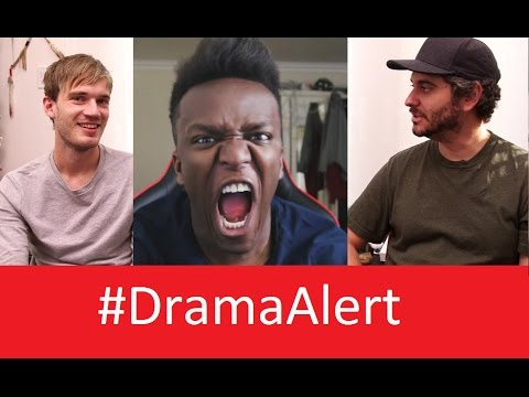 Thumbnail: PewDiePie vs KSI #DramaAlert Leafy Shut Down for Bullying - TheProGamerJay BUSTED by YouTube!