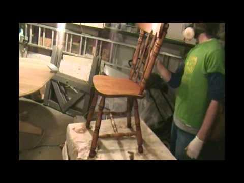 Restaurer decapage bois merisier 2012 youtube - Decaper un meuble ...