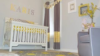 A Trendy Diy Nursery On A Budget