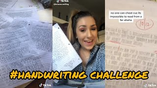 I have uncommon handwriting check ~ tiktok compilation