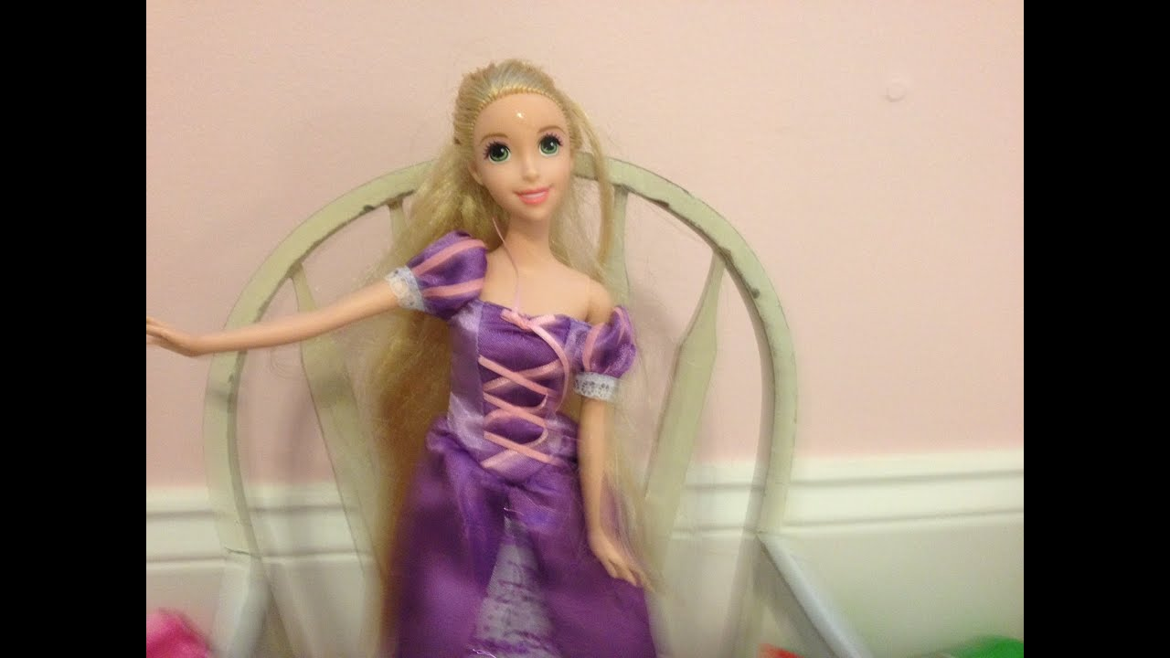 Princess Rapunzel Color Change Brush Unboxing And Review Youtube