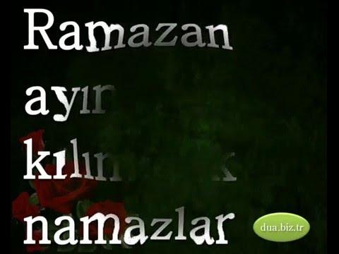 Ramazan ayında kılınacak namazlar