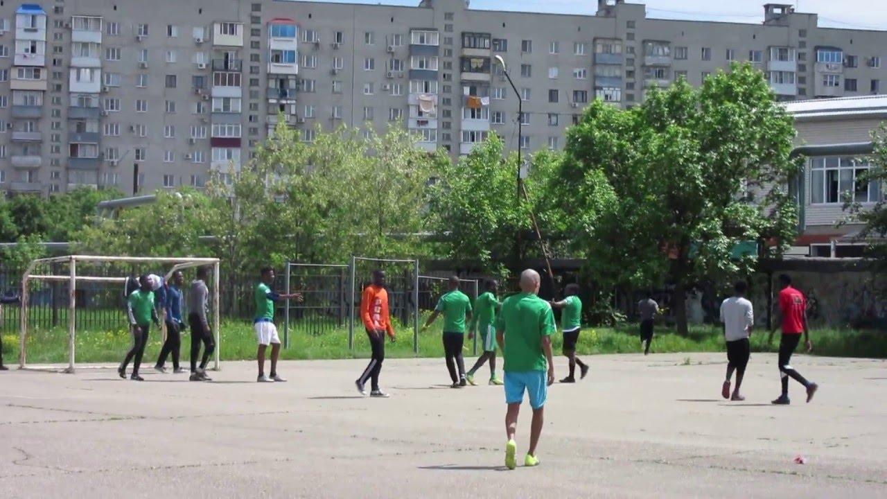 Kuban State Technological University Krasnodar Russia 7 Nigeria Vs Angola Football Match Youtube