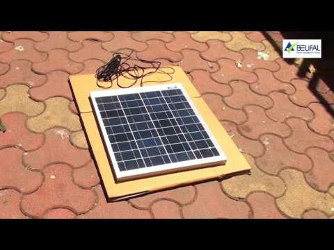 Belifal Solar Home Lighting System, (Surya Shakti Generator) Version: Hindi