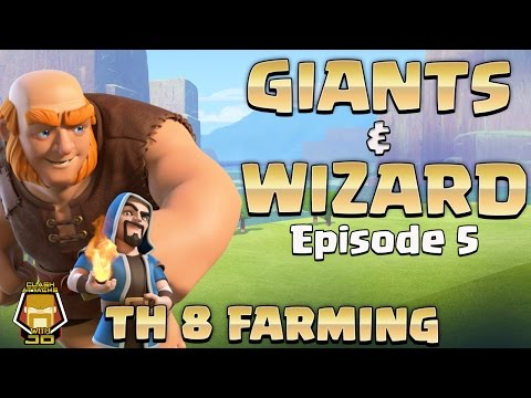 TH 8 Awesome Farming Strategy | Max a TH 8 Episode 5 | Clash of Clans