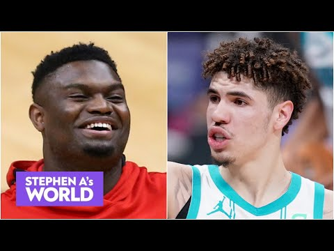 Would Stephen A. rather start a team with Zion or LaMelo? | Stephen A's World