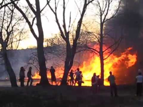 Back Bay Fens Fire in Boston on April 5th 2010