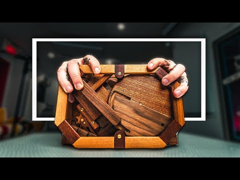 Solving An ELDER SCROLLS Puzzle Box!! - Dwemer Construct