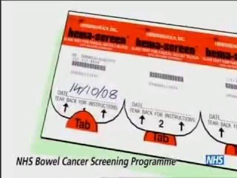 Nhs Bowel Cancer Screening Test Kit Instructional Animation Youtube