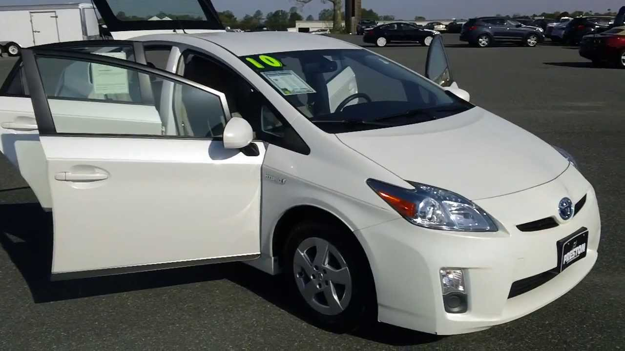 used car sale delaware 2010 toyota prius hybrid youtube. Black Bedroom Furniture Sets. Home Design Ideas