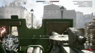 Battlefield 1 - Conquest - Amiens - Rough Start