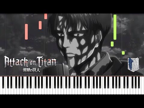 Levi's Choice (PIANO SOLO) - Attack On Titan Season 3 OST Piano Synthesia Tutorial | ThanksAT/T-KT