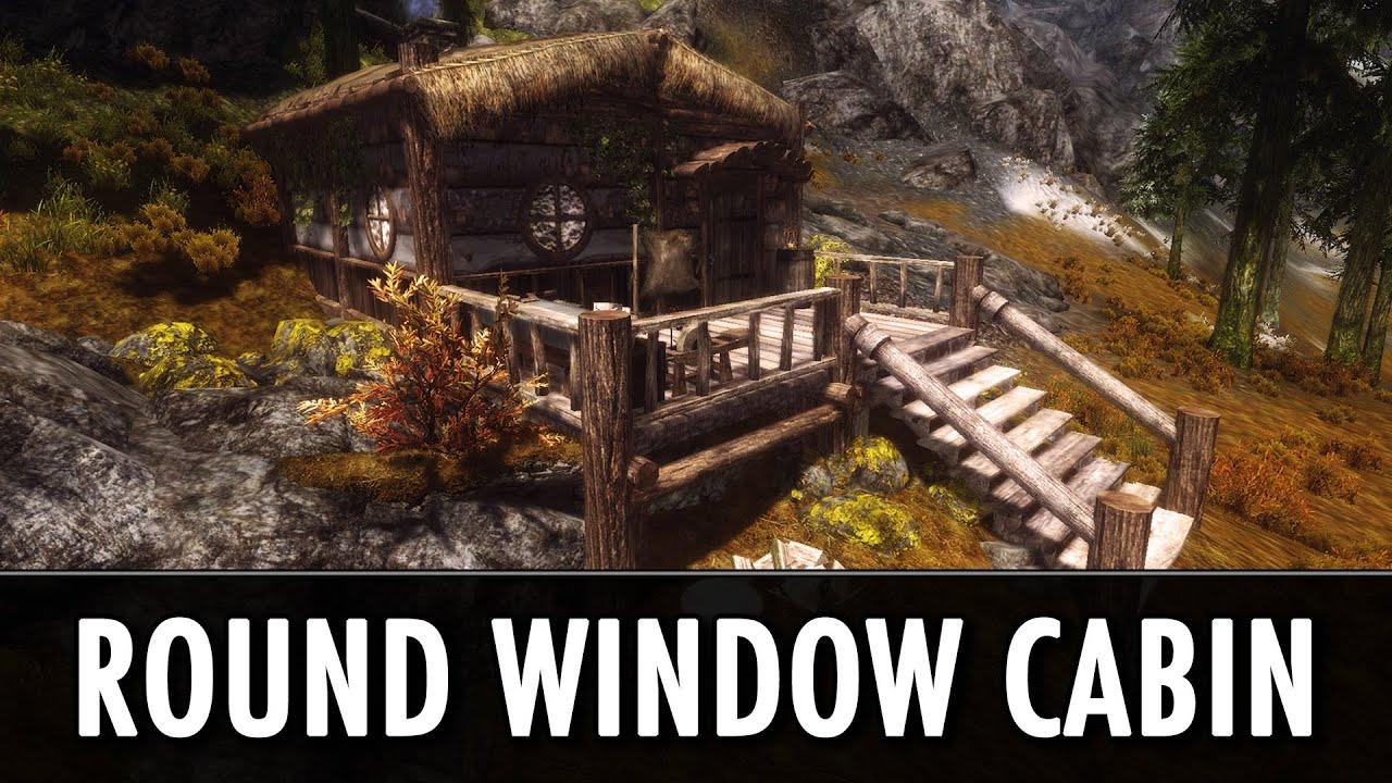 Skyrim Mod Spotlight: Round Window Cabin