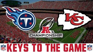AFC Championship Titans vs Chiefs Preview (KEYS TO WINNING)