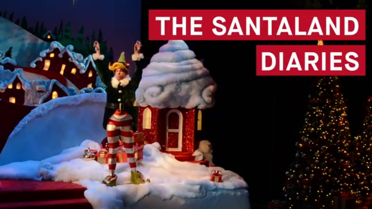 The Santaland Diaries Trailer - YouTube