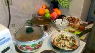 Овощное рагу, щавелевый суп, суп из щавеля, гренки, разговоры о красоте и многом другом)))