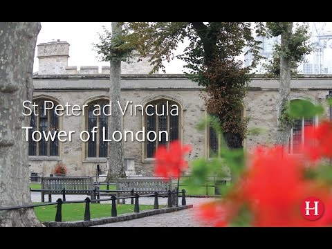 Tower of London: Furnishing the Chapel Royal