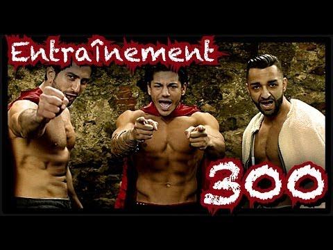 """Le VRAI """"entrainement 300"""" des ACTEURS du film by Bodytime"""